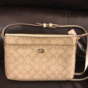 Worn once (maybe) Coach crossbody